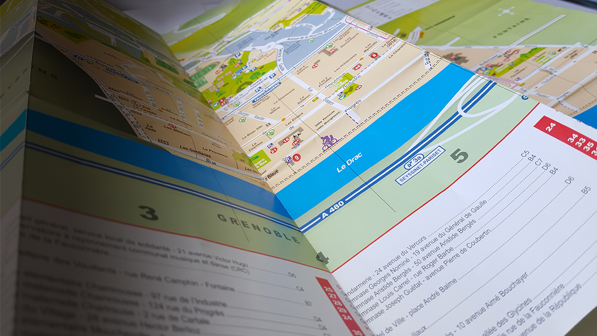 Carte Seyssinet-Pariset