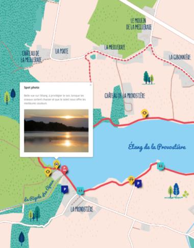carte interactive illustree